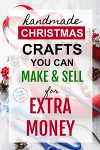 Just for some extra cash on the side, I'd love to find some popular Christmas crafts to sell! There are some great ideas here. So glad I found this list! It has 50+ unique ideas for crafts to make and sell, all handmade gifts. | extra money ideas for moms, creative things to do #extracash