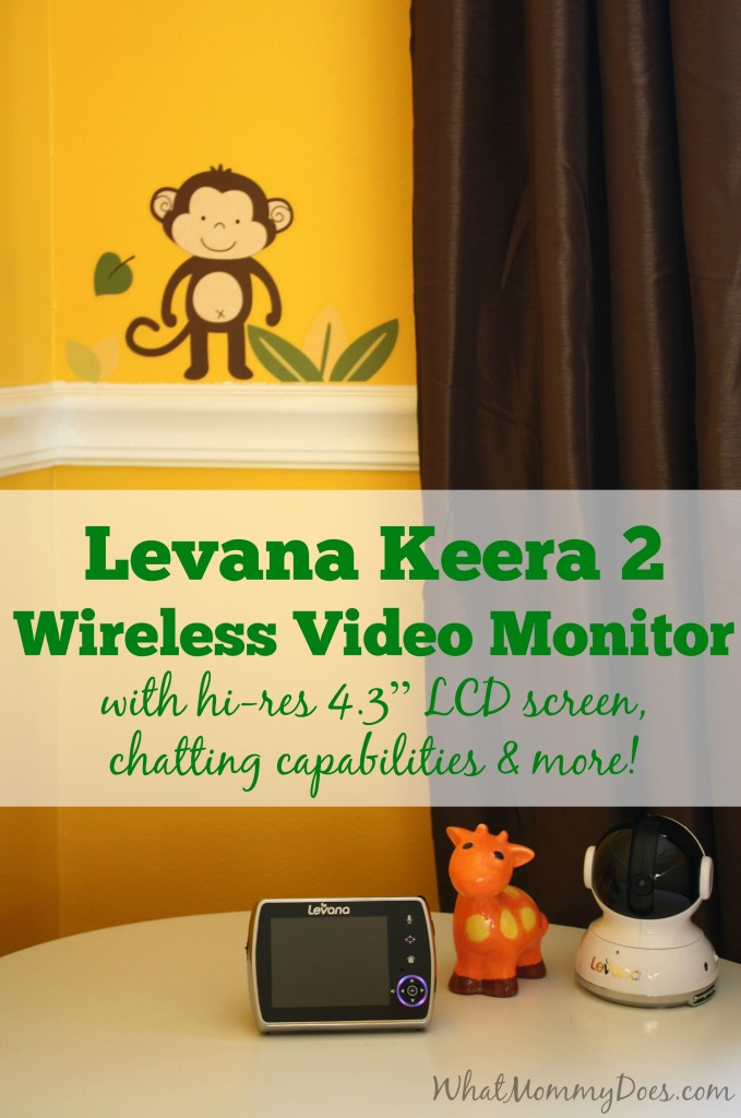 levana camera video monitor review giveaway what mommy does. Black Bedroom Furniture Sets. Home Design Ideas