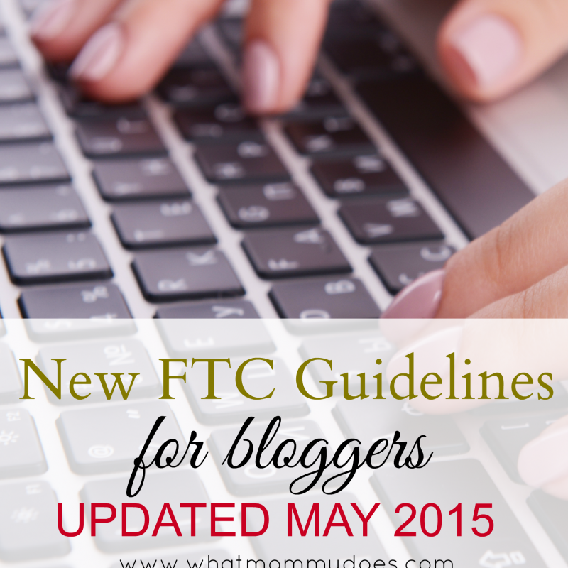 New FTC Rules – Guidelines Updated May 2015