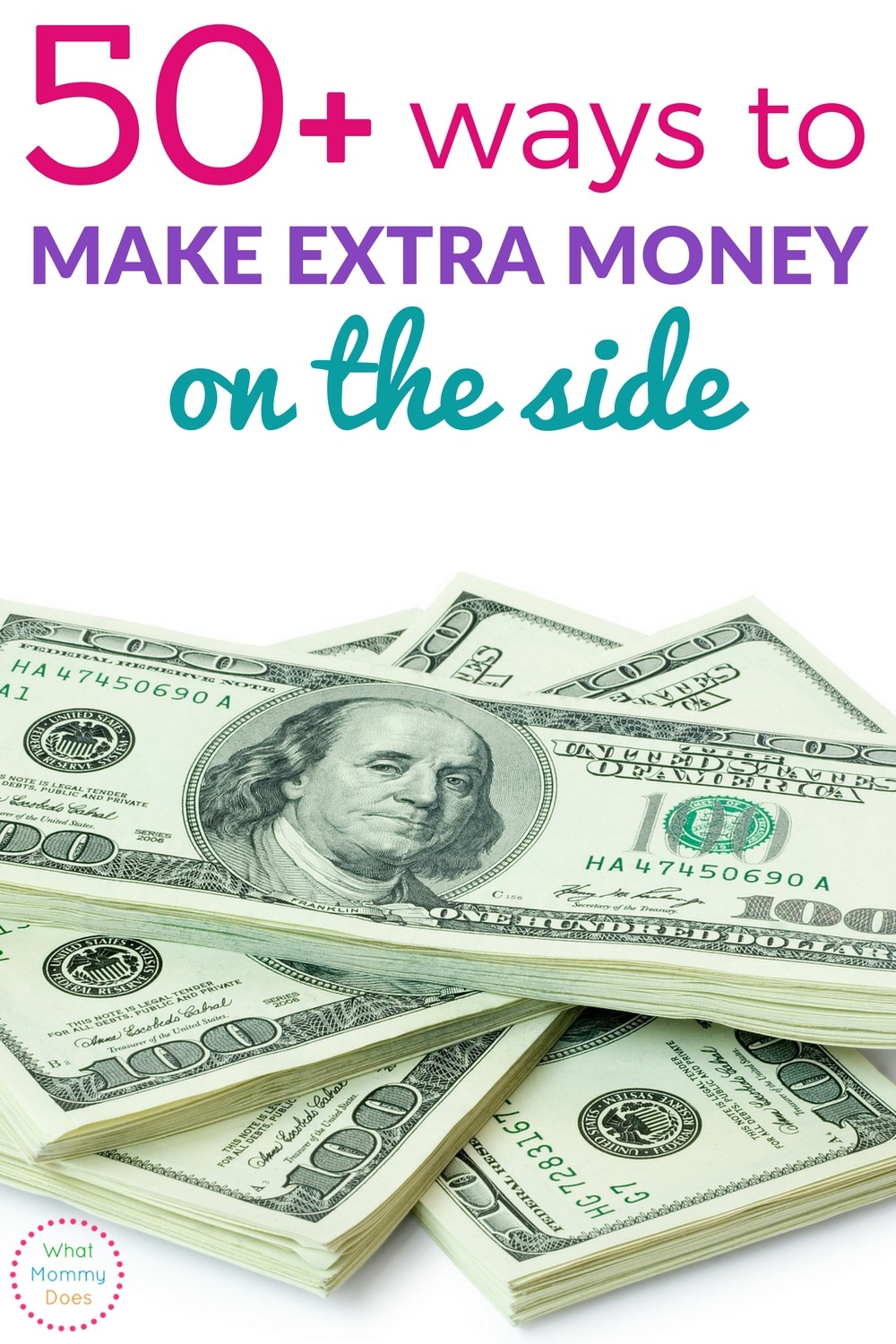 Discover Over 50 Ideas To Make Extra Money On The Side Many Of Them Allow