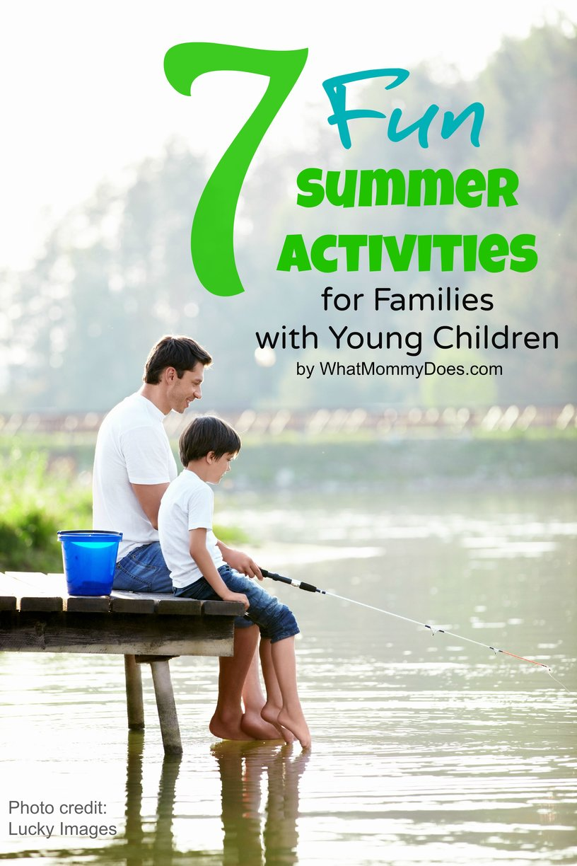 Here are 7 fun summer time activities for families with young kids. We've done 4 out of 7 of these summer ideas - I love doing things with my kids that allows us to bond! If I don't get to this stuff this year, I'll add it to our 2016 bucket list.