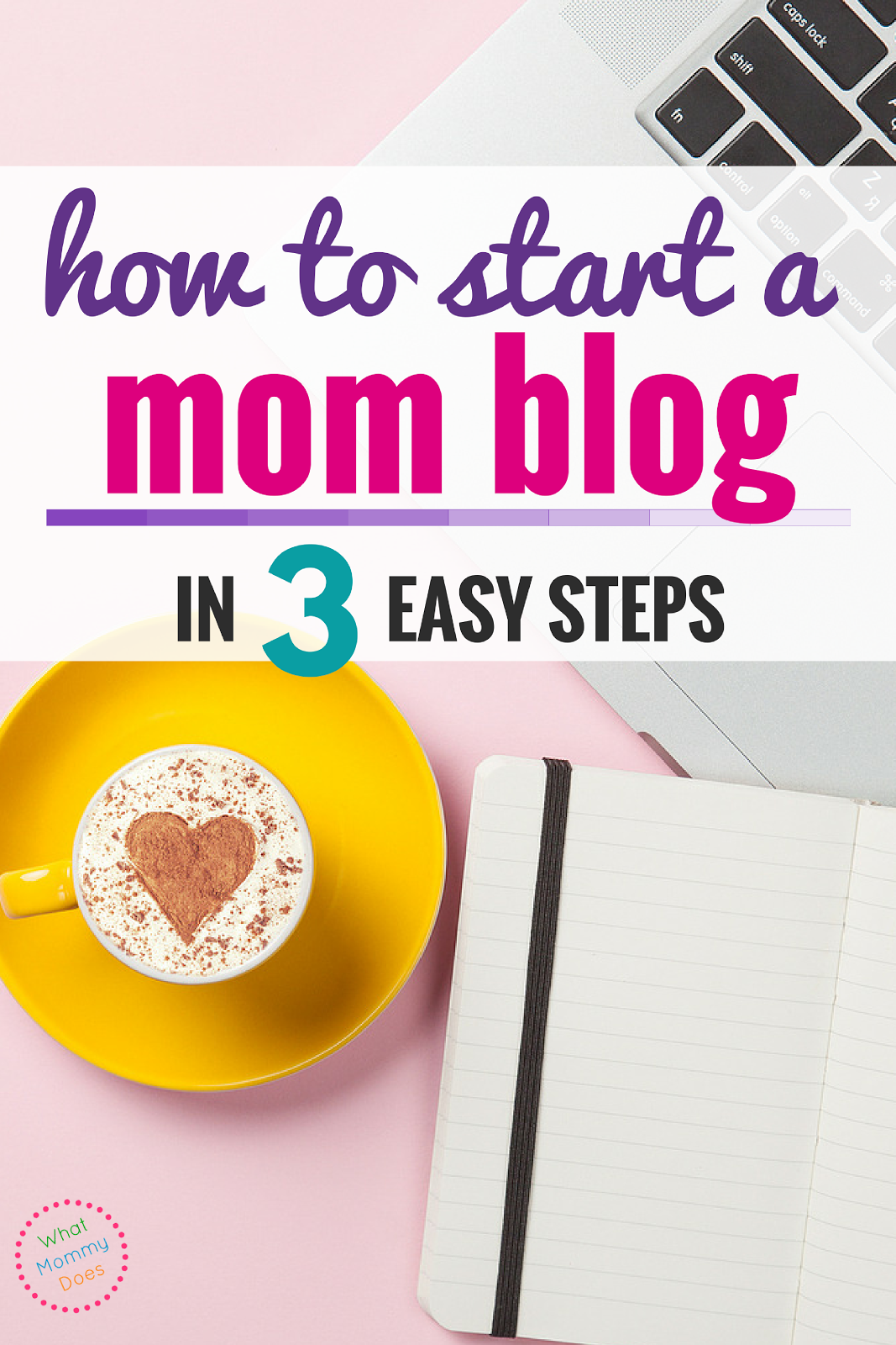 How to Start a Mom Blog in 3 Quick Steps