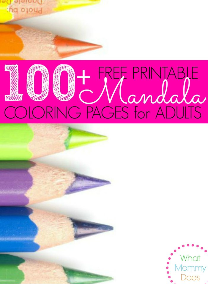 100 Free Printable Mandala Coloring Pages for Adults