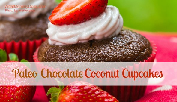 I love it when I find a paleo friendly diet recipe that sounds delicious! You HAVE to try these healthy paleo CHOCOLATE COCONUT cupcakes!! Yowza…my new fave paleo dessert!