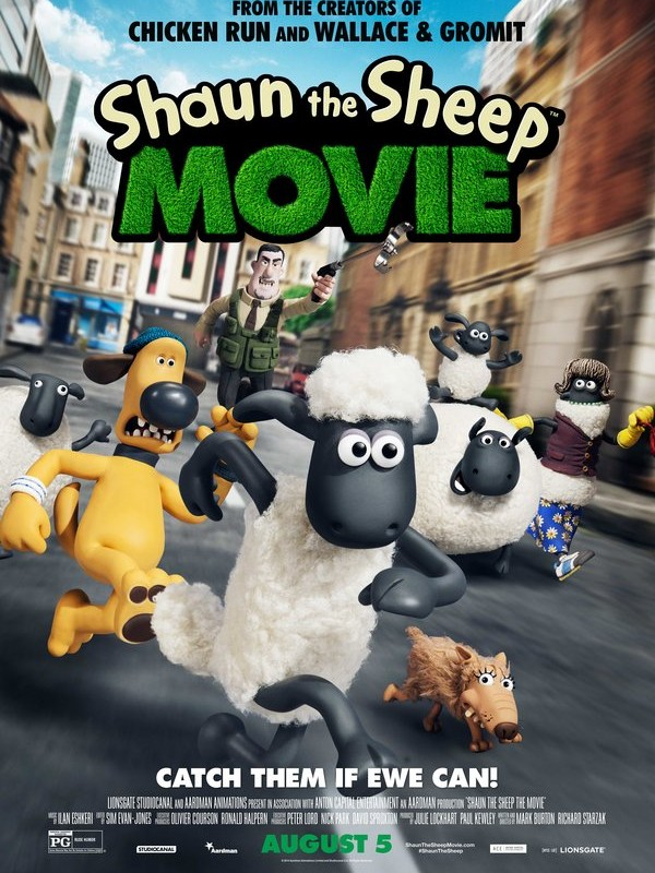 Cute Summer 2015 Kids Film: Shaun the Sheep Movie