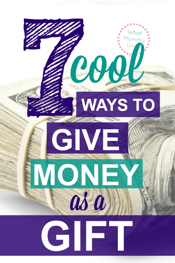 I absolutely LOVE giving money as a gift - cash makes the PERFECT Christmas, graduation or birthday present for any kid between the age of 13 and 22 honestly! It's the most wanted gift by teenagers and college students - you will be so surprised at how much they LOVE money gifts! So unique. Great for last minute gifts too.
