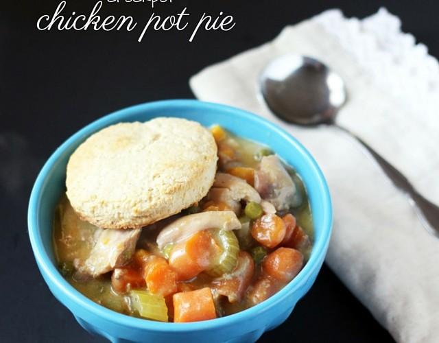 Crockpot Chicken Pot Pie Recipe! Perfect for Cold Winter Days