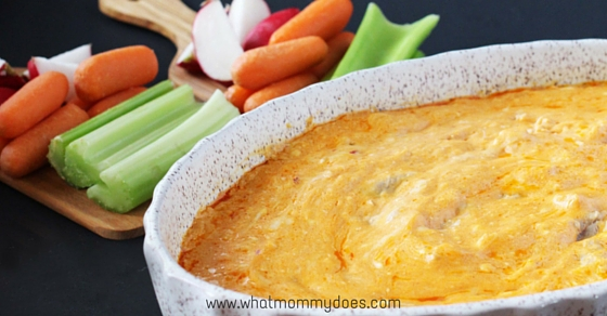 Delicious & Creamy Crockpot Buffalo Chicken Dip - This is my go-to buffalo chicken dip recipe for parties. Best when loaded with cream cheese & Frank's red hot sauce and served with celery or chips. An awesome yet simple appetizer made in a slow cooker…if you keep it in the crock pot, it stays hot the whole time! mmmmmm my mouth is drooling just writing this!