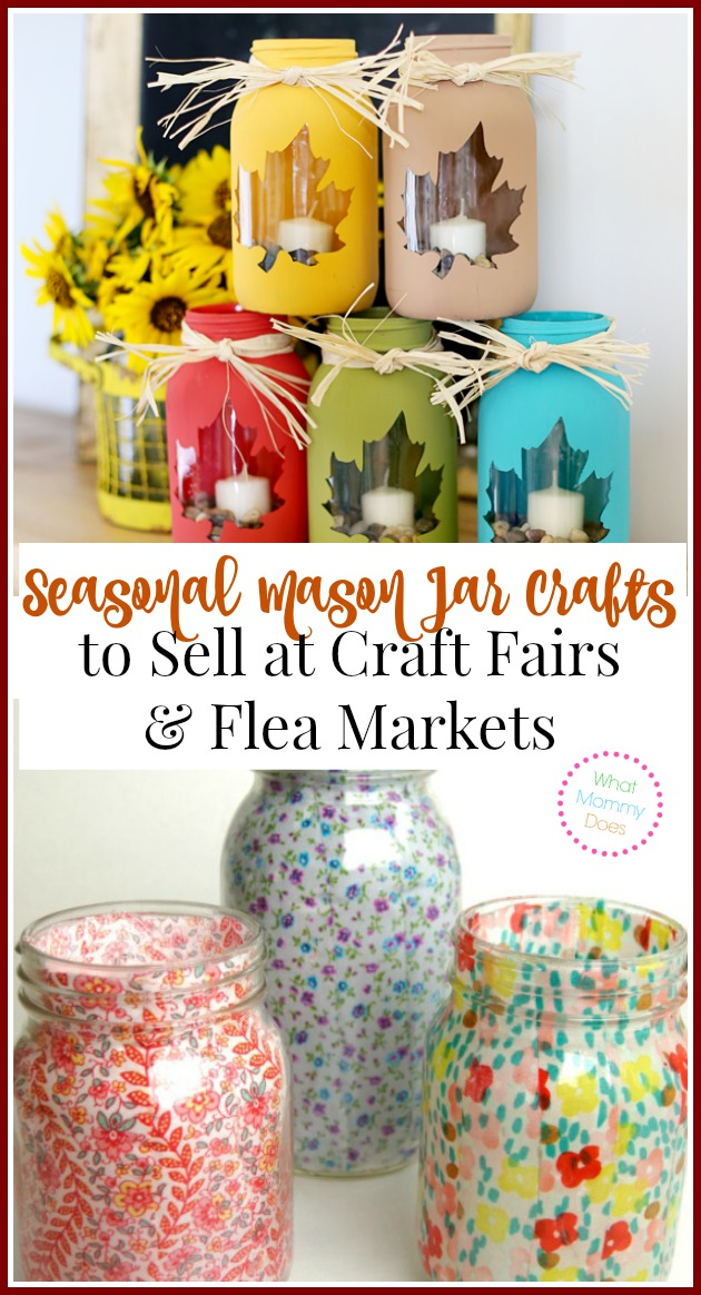 13 mason jar crafts to make sell for extra cash what for How to sell at craft fairs