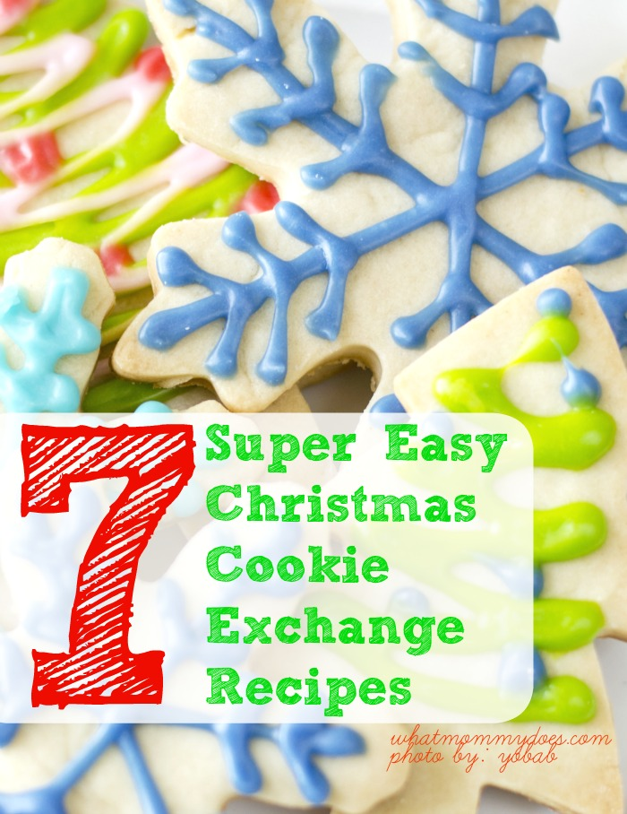 Easy Christmas Cookie Exchange Recipes - If you need simple & cute Christmas cookie ideas for the holidays, I've got you covered! These treats take no time to make; even a kid could make them! The list includes festive sugar cookies, impressive chewy red velvet cookies, and the best frosted peppermint brownie treats!