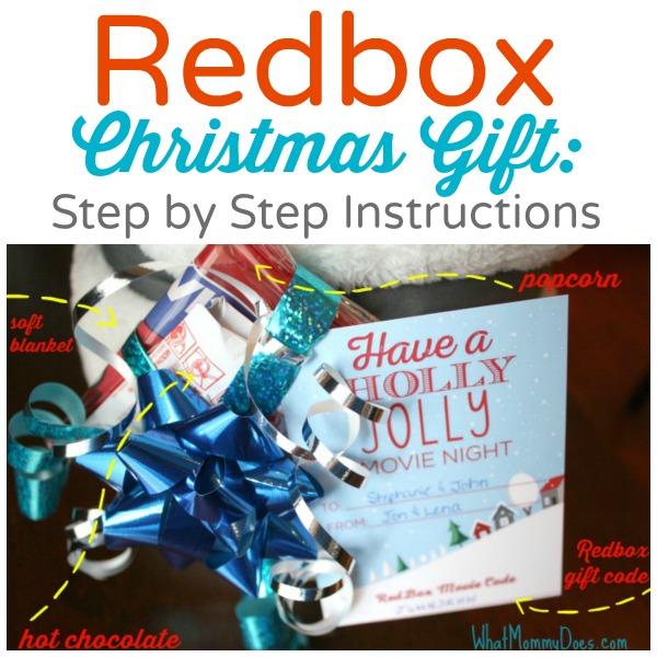 redbox step by step