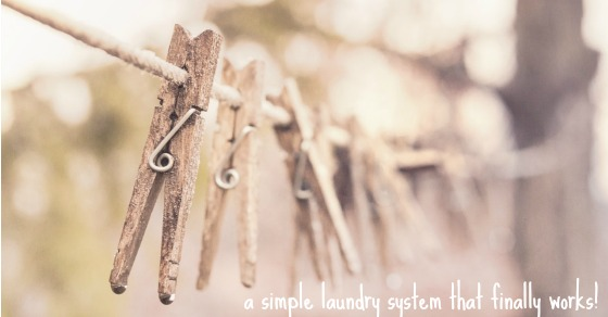The 3 Basket Laundry System That Saved My Sanity (for people who have a laundry closet)