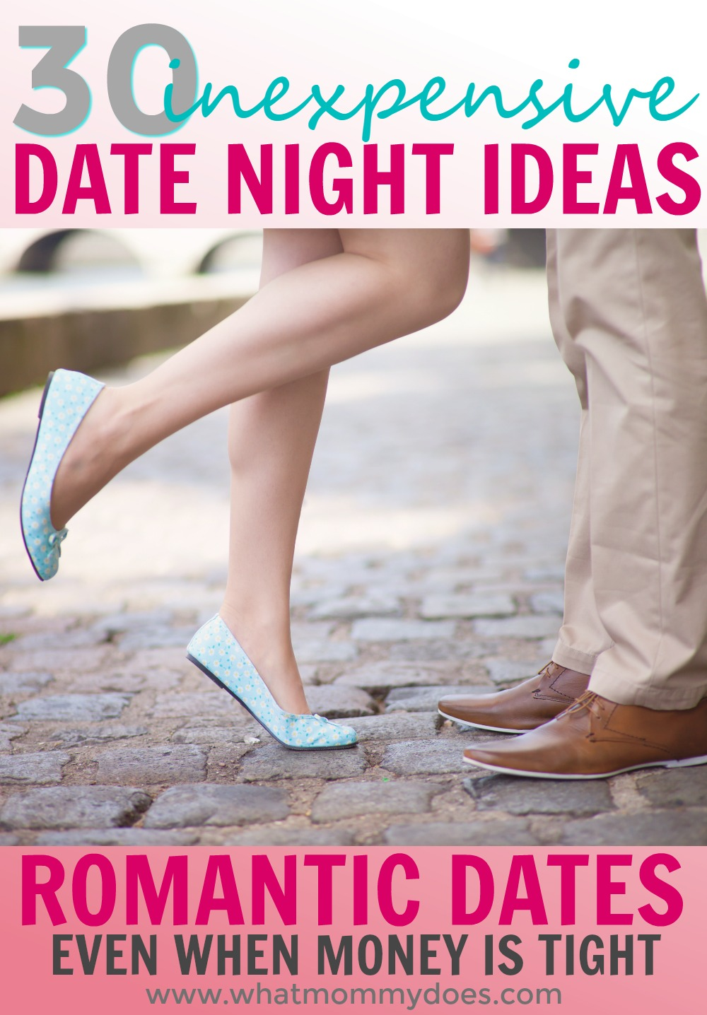 Looking for romatnic date night ideas that won't break the bank? You can still go on creative dates with your husband…at home or out on the town…you just need to get creative! These are great for Valentine's Day date nights, too! | fun date ideas for a small budget!