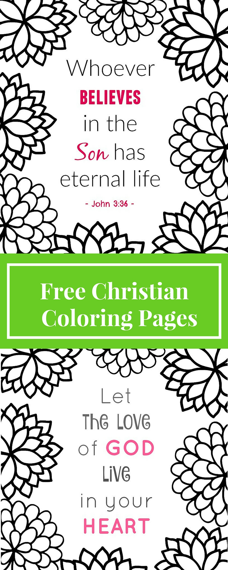 Free Printable Christian Coloring Pages - What Mommy Does