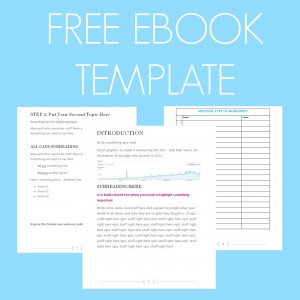 free ebook template image
