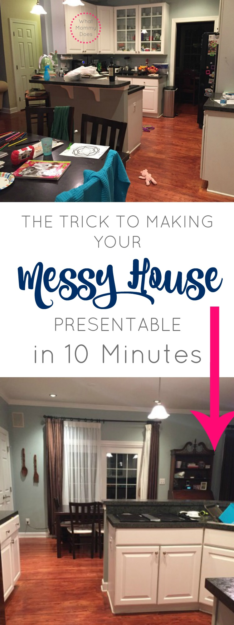 cleaning tricks messy house
