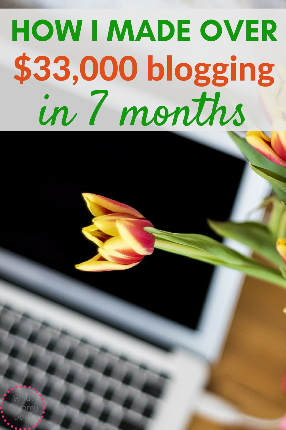 Want the best make money blogging tips? Find out how this blogger made over $33000 in just 7 months!