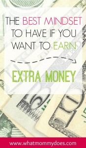 best mindset to earn extra money