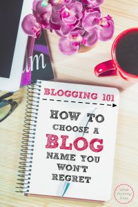 how to name your blog - what is the best name for my lifestyle blog - what should I name it