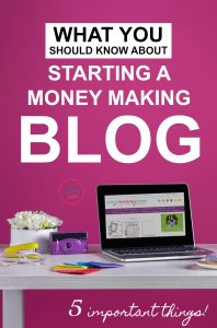 I wish someone had told me these things when I first started blogging! Read this BEFORE you start your blog and you'll be so much better off! I was starting a blog to make extra money on the side as a stay-at-home-mom, and I could have used this advice, especially about the best way to grow your blog in the beginning. | money making tips for bloggers, how to make a successful blog, extra cash series for moms
