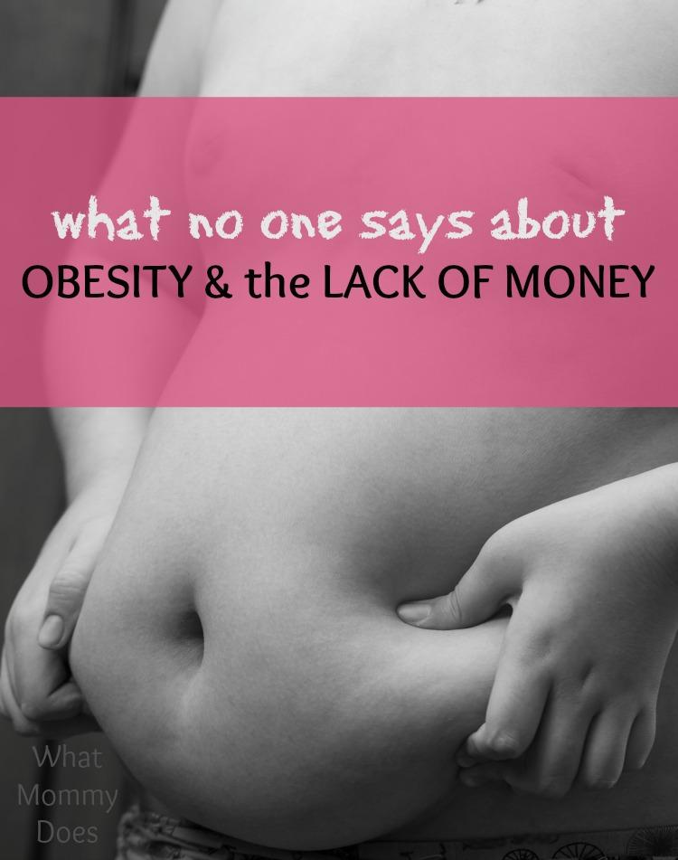 obesity and money