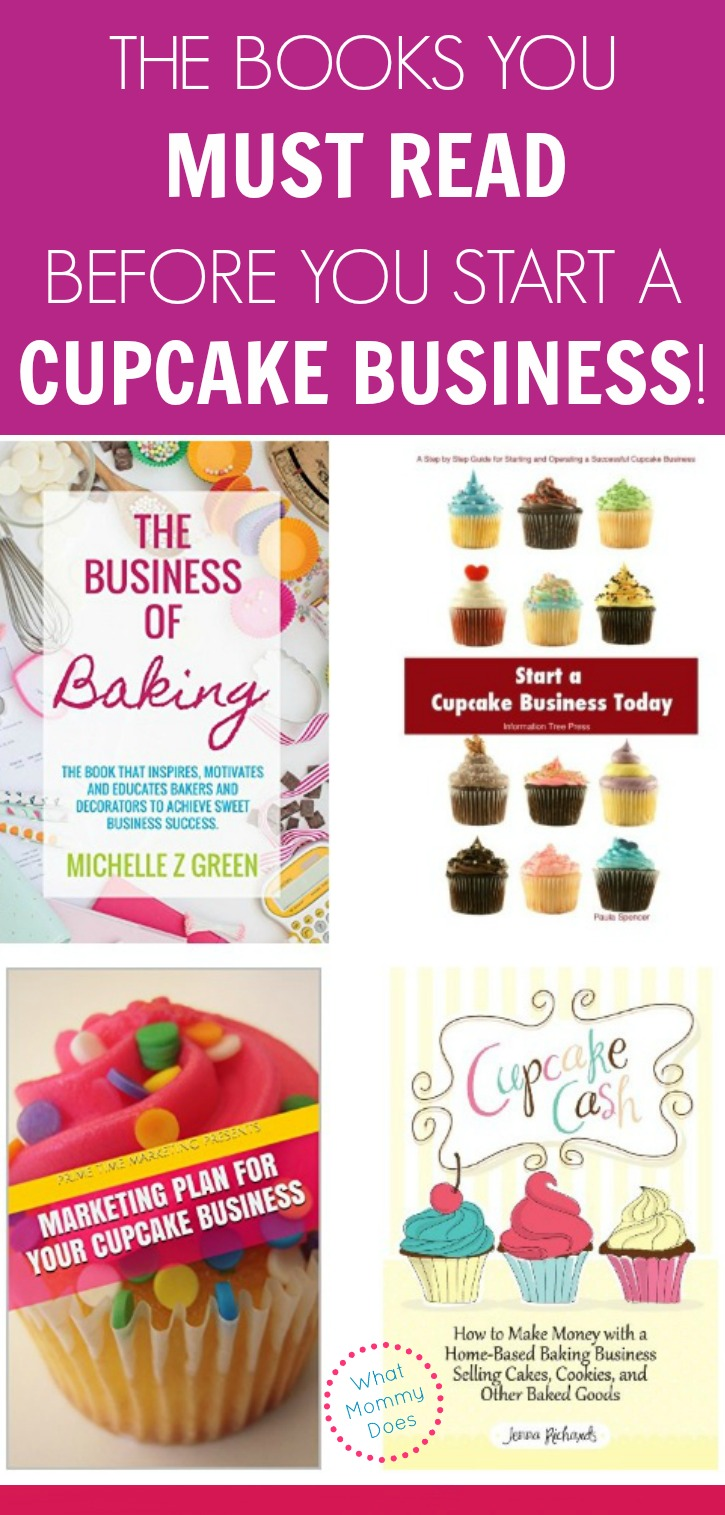 5 books cupcake business