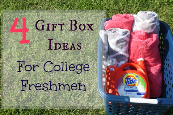 4 Back to College Gift Box Ideas