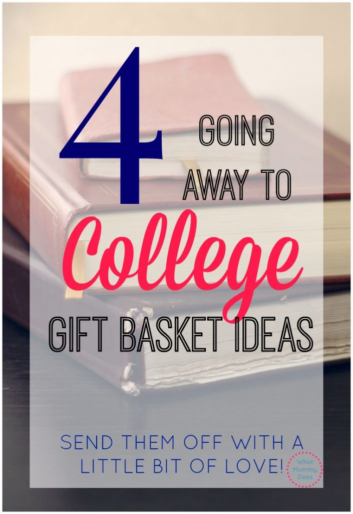 going away to college gift basket ideas