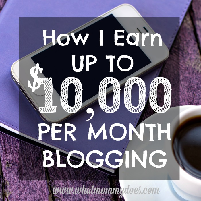 If you've been thinking about starting a blog, you HAVE to see this!! I need a blog that makes money, not just a hobby blog. This girl started taking blogging seriously in 2014 and now earns up to $10,000 per month! As a stay-at-home-mom! She gives you detailed income reports so you can really see what is possible. Such a great resource! Saving so I can refer back to it over and over again. | money making ideas, start a blog to make money