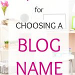 What to do if the Blog Name You Want is Taken