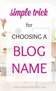 I am so glad I found this! I have been wayyyyy overcomplicating this blog startup thing. Her simple method is very helpful. I want to start a blog so I can make extra money from home, but I keep getting stuck on what to call it. This helped me pick my name out in one sitting! She also has a free step-by-step tutorial for starting a blog. Pinning this so I don't lose it!! | how to start a blog, extra cash, make extra money
