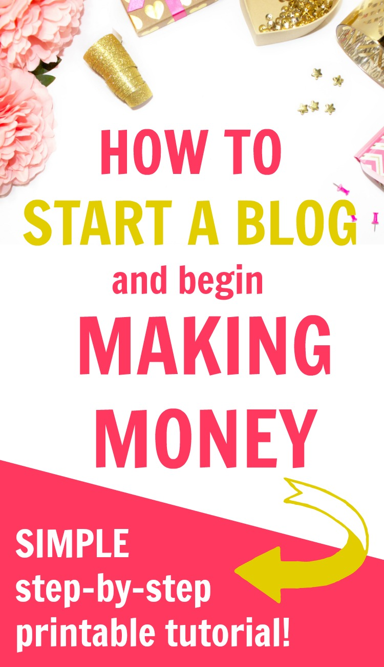 There is a right way & a wrong way to start a money making | blog. If you want a step-by-step tutorial to use as a checklist, you HAVE to see this. If you follow these steps, you'll have a WordPress blog ready for your amazing content that you can monetize a.k.a. earn extra money from! | blog for profit, lifestyle blog ideas, blog planning