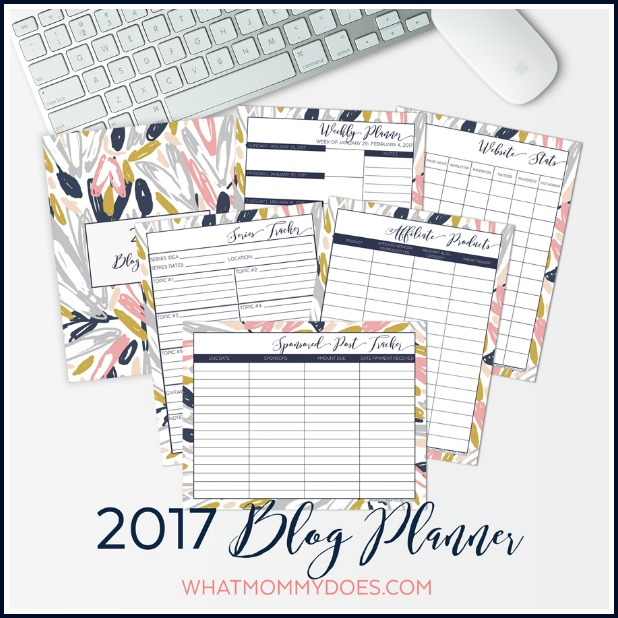 2017 blog planner preview image
