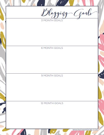 photo regarding Blog Planner Template named Absolutely free Printable 2017 Website Planner - What Mommy Does