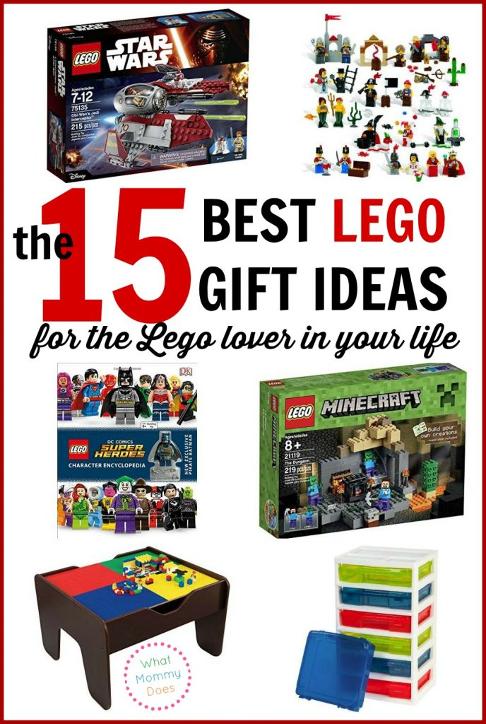 Everyone has a Lego enthusiast in their family! I need all the Lego gift ideas I can get for my kids AND my brother! Even as an adult, he LOVES Legos. Lol These would make perfect Christmas presents or birthday gifts. #8 and #10 are my favorite :D