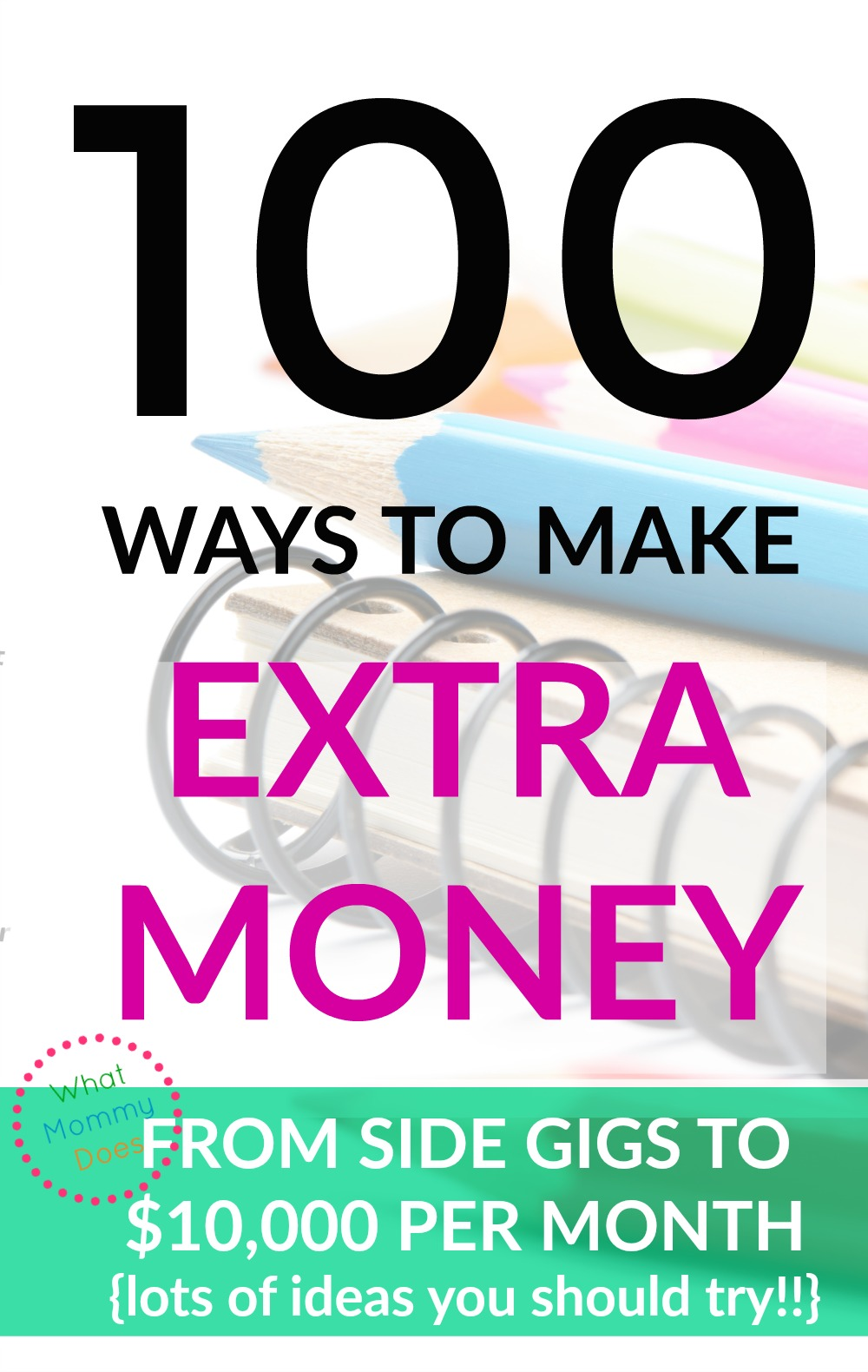 List Of Ways To Make Money How To Make Extra Cash What