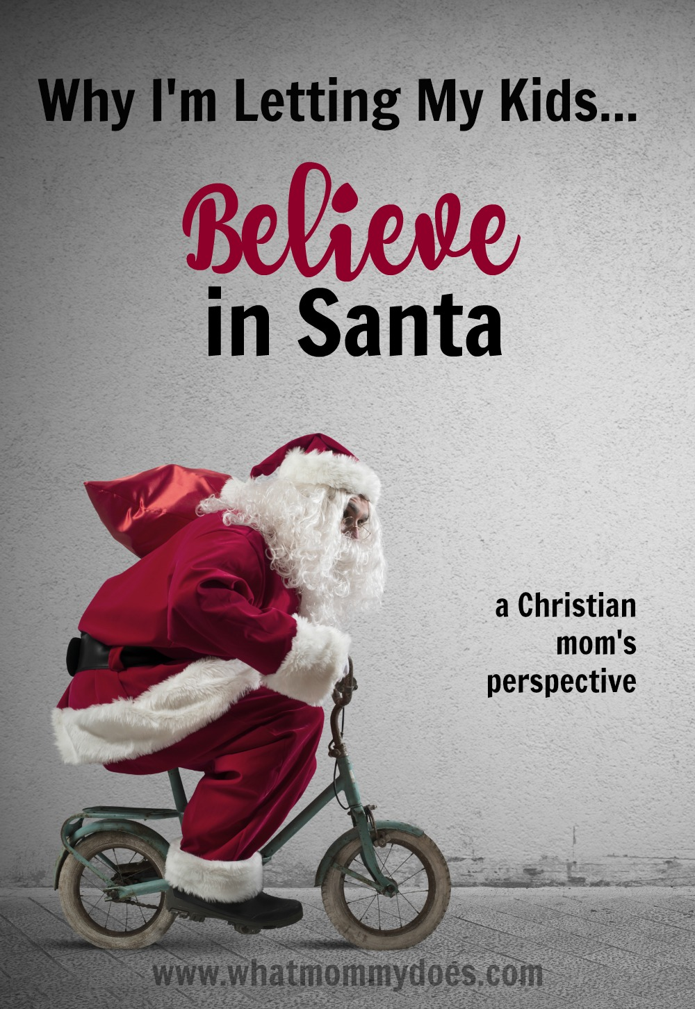 As a Christian mom, I had to take a stance on this whole Santa thing. Here is WHY I chose not to ruin the magic of Santa Claus for my kids.