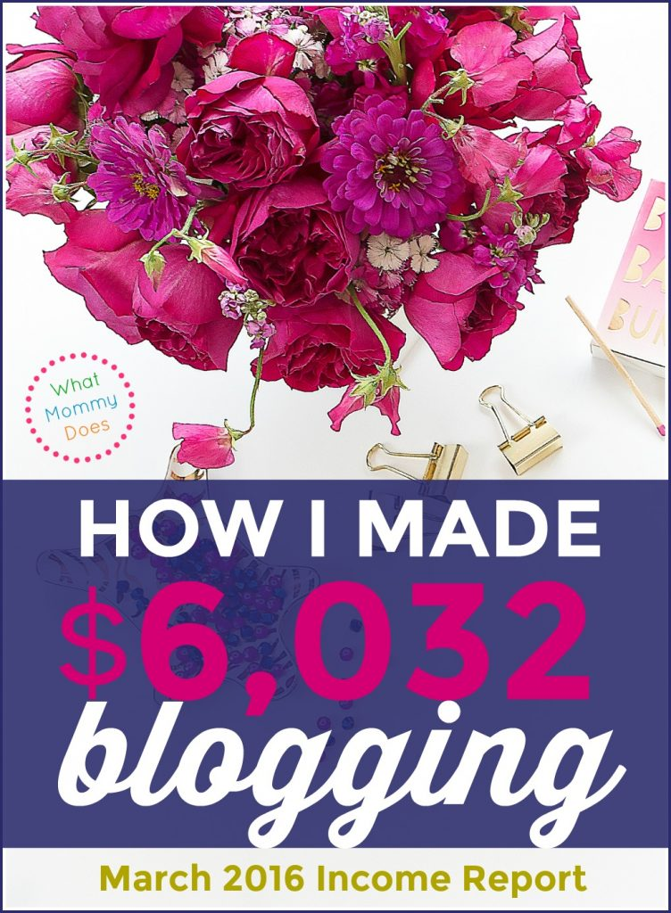 I can't believe you can make $6,000 per month in your free time blogging!! Lena explains exactly how her blog makes money in this post!!! She literally works part time and makes more than I do at my full time job!! $6000 per month = $72,000 per year! wow. just wow.She shows you how to build a blog from step 1 so it can earn extra income for you even if you can only work evenings and weekends. She started during her babies' nap times! :D | making money online, money making idea, side hustle, make extra cash on the side, free blogging tutorials, how to start a blog to make money