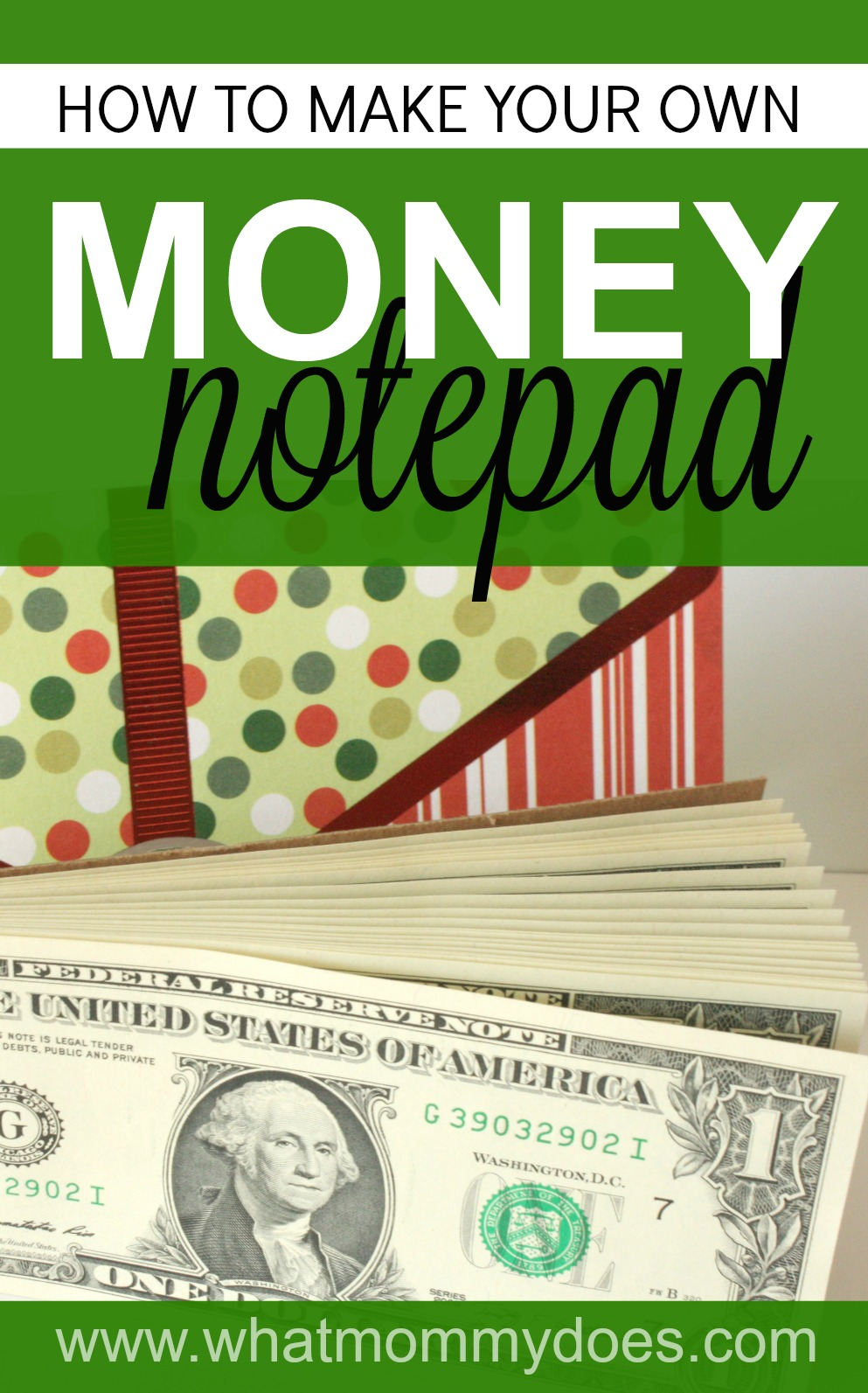How to Make a Money Notepad - The COOLEST GIFT IDEA for teens!