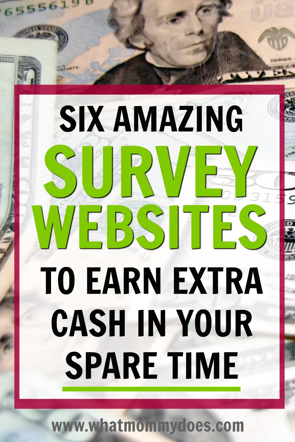 Looking for a way to make extra money each month that doesn't require a lot of work up front? Online survey sites are perfect for this!!! These are the best 6 free survey websites according to my rep - you can make extra cash answering questions & giving your opinion in your spare time. Goodness knows, you could even earn extra money while you're standing in line at the grocery store! | quick money making ideas, extra money monthly, easy side gigs