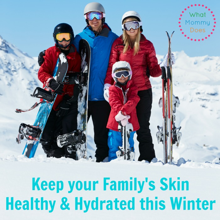 How to Keep Your Family's Skin Hydrated and Healthy in the Winter