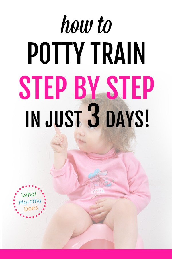 A friend told me about this method and I'm SO GLAD I found it! She trained all four of her kids in 3 DAYS using these methods, and it really does work! I don't know what I would have done without these tips. We had tried a reward chart, stickers, you name it. You won't regret getting this book.