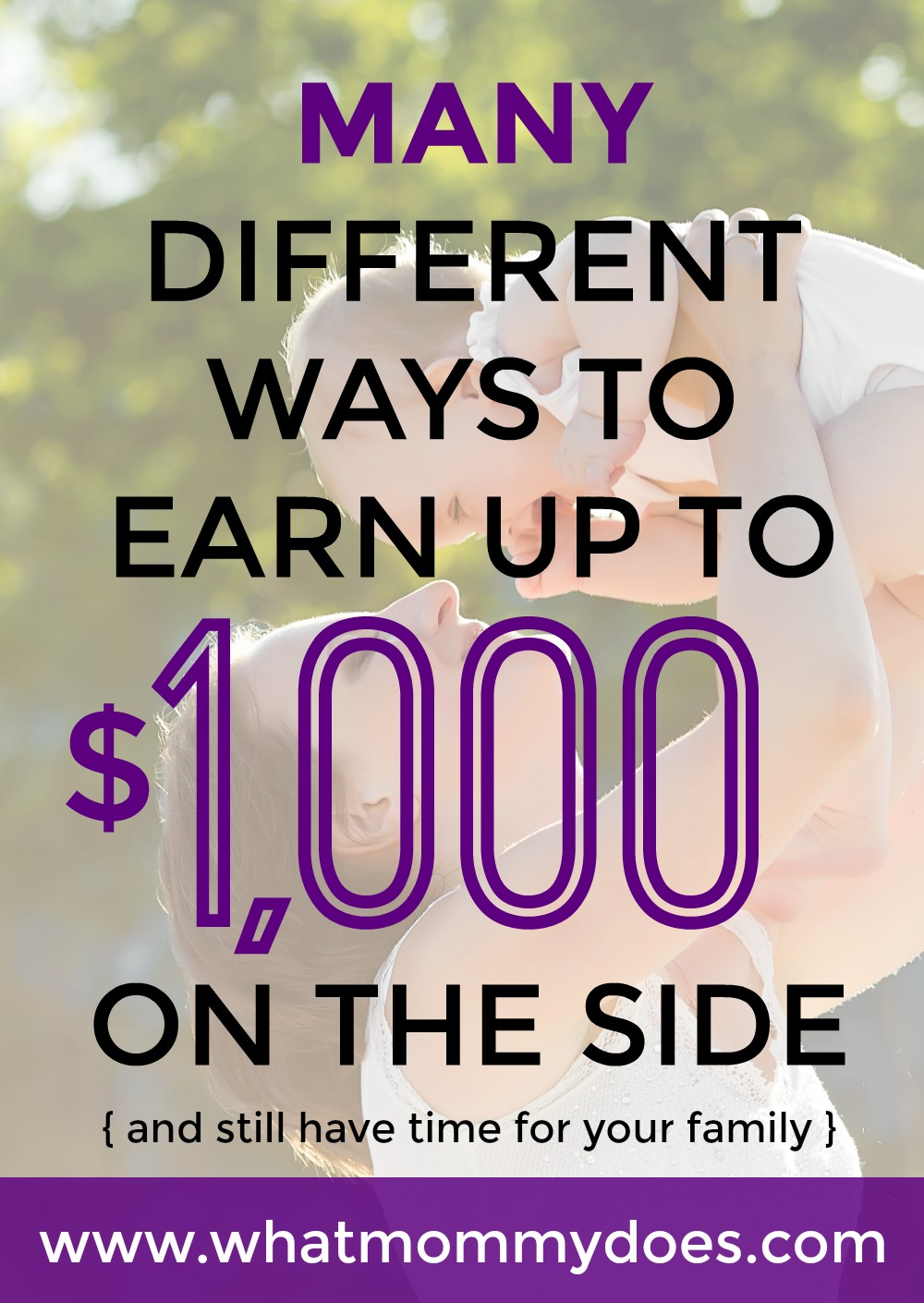 how to make extra income from home whatmommydoes