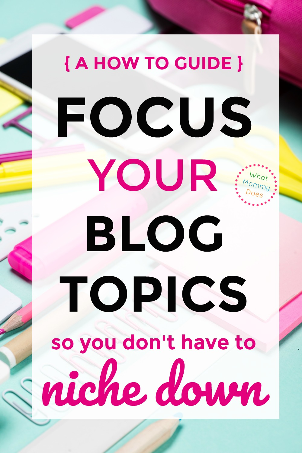 When I started my blog, I couldn't pin down what my primary passion was. I wanted to write about all kinds of topics on my blog. I FINALLY figured out how to stay true to myself + for my blog to be a reflection of all my passions, not just one of them. This guide (not just for beginners, but experienced bloggers, too!) will show you how to properly plan + organize your blog so you can write about lots of things. | blog organization tips, blog planner ideas, how to start a blog to make money
