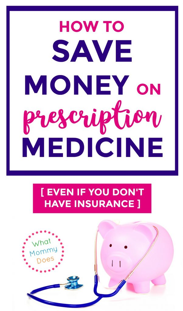 When you don't have insurance, getting medicine can be stressful. This is an easy way to save money on prescriptions. | medical costs, budgeting tips