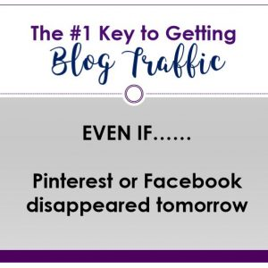 ⭐ How to Get Traffic to Your Blog EVEN IF Pinterest or Facebook Disappeared Tomorrow