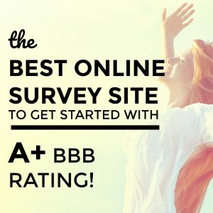 The Best Online Survey Site for Extra Cash – Survey Junkie!