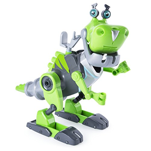 this thing is super cool i dont know any little boy that doesnt like a dinosaur or buildingdisassembling this combines all those things - Cool Christmas Toys