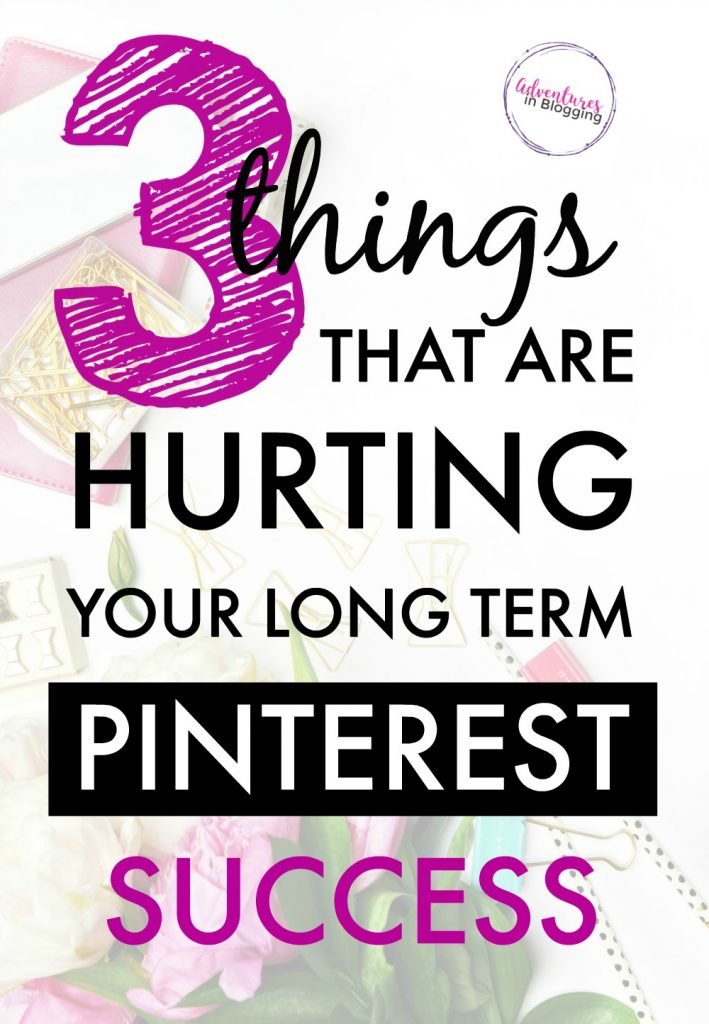 "Following standard Pinterest ""expert"" advice can set you up for long term Pinterest FAILURE, not SUCCESS! Learn what really matters when it comes to getting blog traffic from Pinterest. Lena knows her stuff! She created a one-of-a-kind SEO course for Google & Pinterest. Here are her tips. 