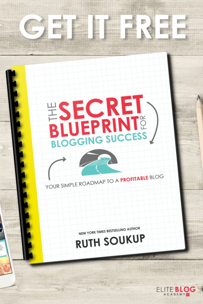 Elite Blog Academy Secret Blueprint For Blogging Success - In this guide, Ruth (a 7-figure blogger) dives into secrets you may not know!